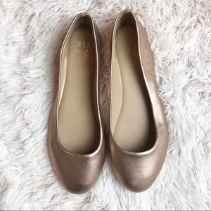 Mix No. 6 | Dalilah rose gold ballet flats
